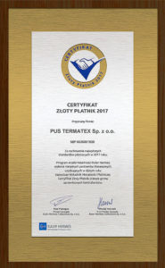 Certyfikat_ZlotyPlatnik2017_pl