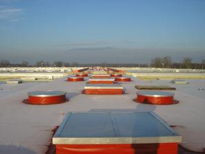 Nadarzyn - pokrycie dachu płaskiego