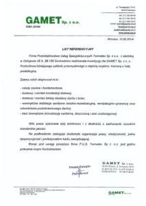 referencje-Gamet