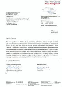 referencje-Metro